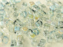 CrissCross Cube, Crystal Blue Rainbow, 00030/98538. 30-pack.