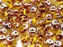 Superduo® Amber Capri Gold, 80020/27101. 10 gram per påse.