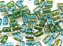 Rulla beads, Aqua Celsian, 60020/22501. 10 gram
