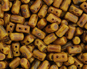 Rulla beads,  Lemon Dark Travertin, 83120/86805. 10 gram
