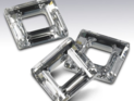 Swarowski Square 14 mm. Clear Crystal Unfoiled.