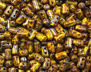 Rulla beads,  Lemon Picasso, 83120/43400. 10 gram