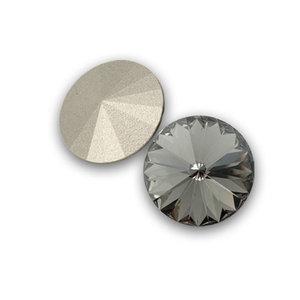 Swarowski Rivoli 14. Black Diamond.