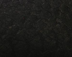 Fiskskinn av abborre. Matt svart, ca 24*6 cm