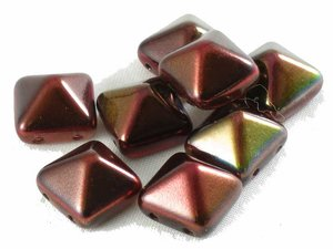 Stud bead, Magic Wine, 12*12 mm. 10-pack