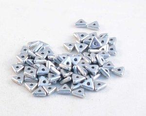Tri-bead, Aluminium Silver. 5 gram