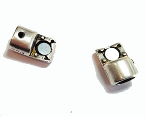 Magnetiskt lås i grekisk kvalitetsmetall, 6,5 mm hål.