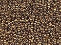 TOHO seedbead 11/0, Bronze. 5 gram.