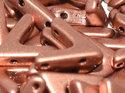 Ava Bead, Vintage Copper. 5 st