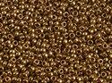 Miyuki seedbead 11/0, Metallic Light Bronze, 0457L. 5 gram