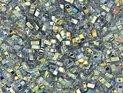 Miyuki Half Tila, Crystal Blue Rainbow, 55025. 5 gram