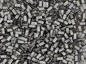 Miyuki Half Tila, Crystal Chrome Full Matted, 55105. 5 gram