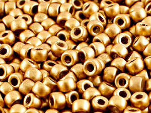Matubo 7/0, Aztek Gold, 01710. 10 gram.