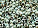 Matubo 7/0, Chalk Green Luster, 03000/65431. 10 gram.