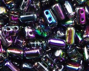 Rulla beads, Magic Blue Pink, 00030/95100. 10 gram