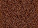 Miyuki seedbead 15/0, Dk Topaz AB Matted, 0134FR. 5 gram