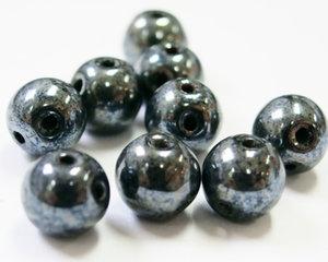 RounDuo®, Jet Hematite, 23980/14400, 5 mm. 50 st