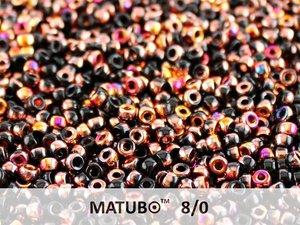 Matubo 8/0, Jet Sliperit. 10 gram.