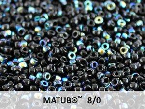 Matubo 8/0, Jet AB. 10 gram.