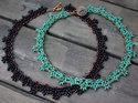 Mönster på halsbandet Amanda av Olga. (skickas per e-post)