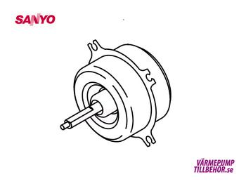 Fan motor for Sanyo outdoor unit
