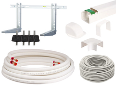 "Complete installation kit, 7 meters 1/4""-1/2"""
