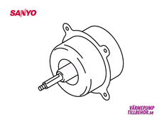 Fan motor for Sanyo outdoor unit
