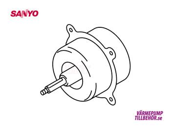 Fläktmotor Sanyo utedel