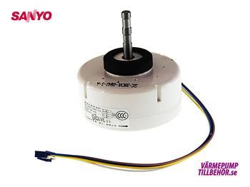Fan motor for Sanyo SAP-KRV124EHDXN and SAP-KRV96/126EHDSN