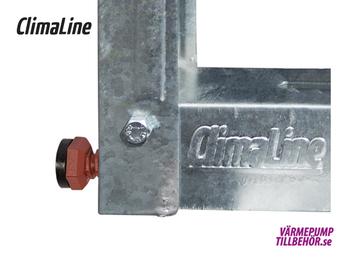 Galvanized wall bracket, maximum load 140 kg