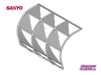 Filter for Sanyo SAP-KRV96EH and SAP-KRV126EH
