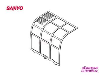 Filter (left hand side) for Sanyo Sanyo SAP-KRV96EHDSN and SAP-KRV126EHDSN