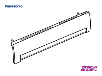 CWE22C1154 - Front cover for Panasonic heat pump and air conditioner