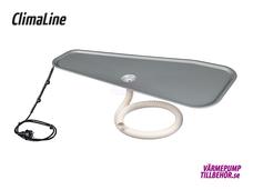 ClimaLine Pancake tråg komplett paket för luft-luft