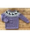 Hästsweater - No.4 Ekologisk ull + nässlor