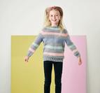Randig barntröja - Isabella