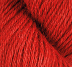 Llama Silk Varmröd
