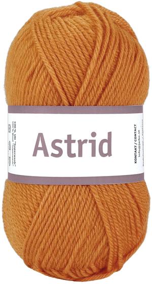 Astrid - Fiery orange