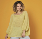 Oversized raglanjumper i Angel