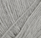 Baby ull - Ljus grå