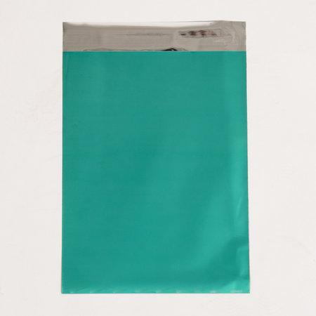 Foliepåse - Matt/Turkosgrön M