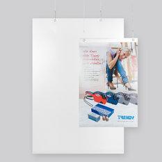 Plastficka frihängande - A3