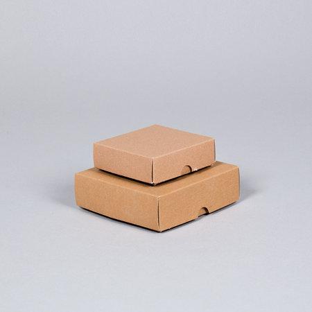 KARTONG - Brun Lock/botten S