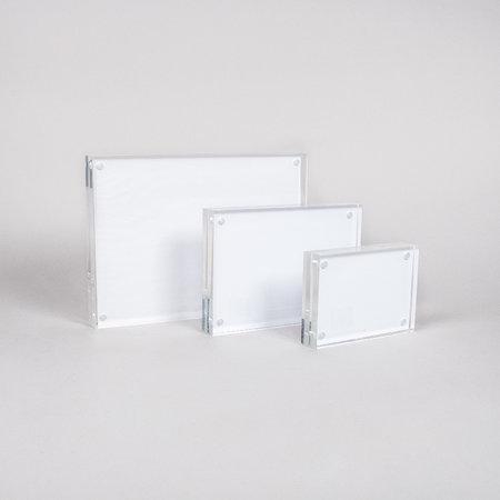 Akrylblock med magnet 30mm - A4