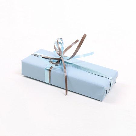 PRESENTPAPPER - Blå matt 57cm