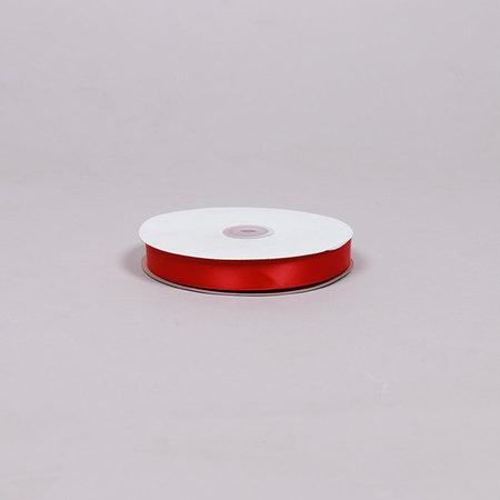 SATINBAND - Röd 20mm 3-pack