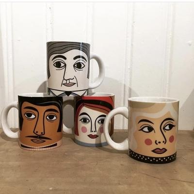 Mug Porcelain Ingela P Arrhenius, Mr Wolff
