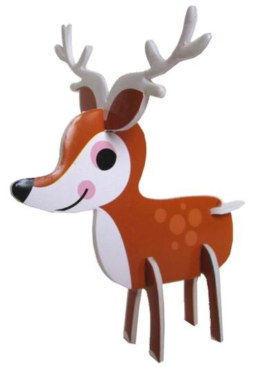 """Pussel 3D Ingela P Arrhenius """"Animal parade"""""""