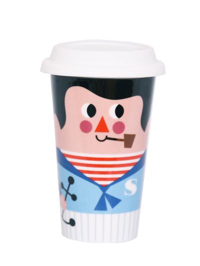 Travel mug with lid Ingela P Arrhenius, Sailor