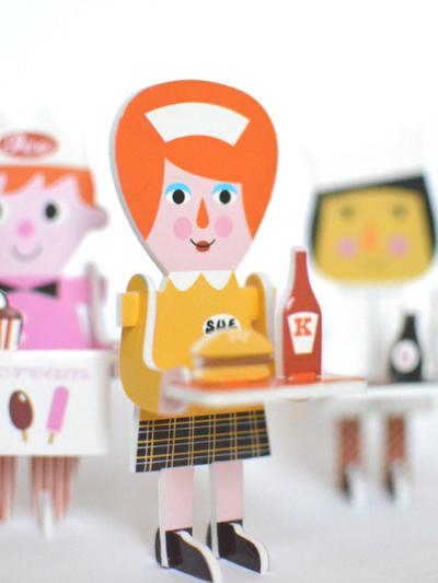 "Puzzle 3D Ingela P Arrhenius ""Character parade"""